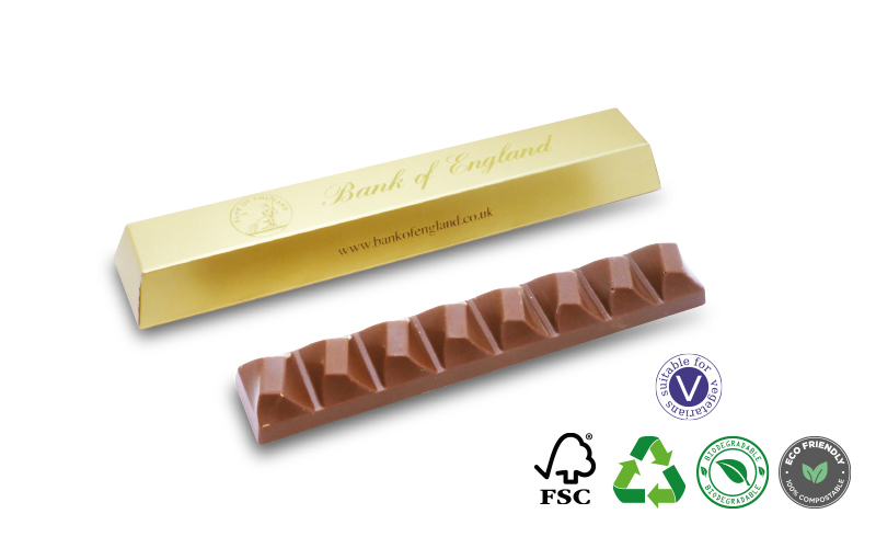 Chocolate Bar – 100g Boxed Foiled