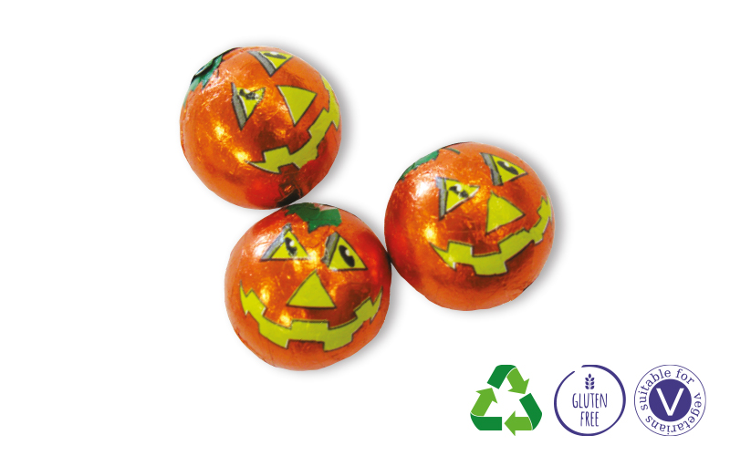Mini Chocolate Pumpkins