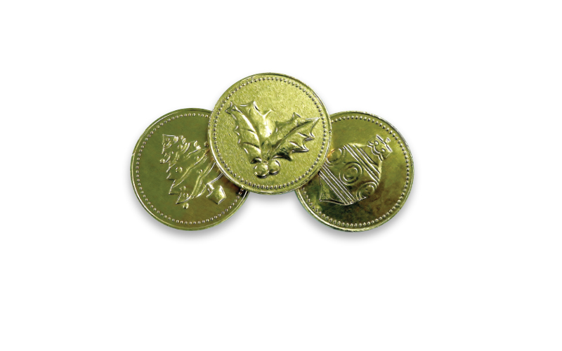 Chocolate Coins – Assorted Christmas