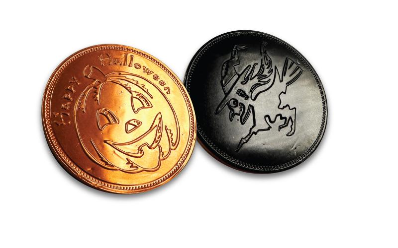 Chocolate Coins – Large Halloween
