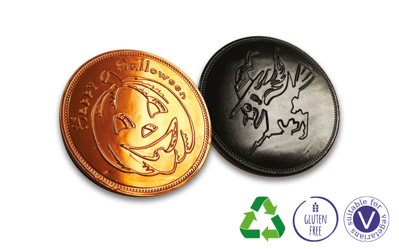 Chocolate Coins – Large Halloween