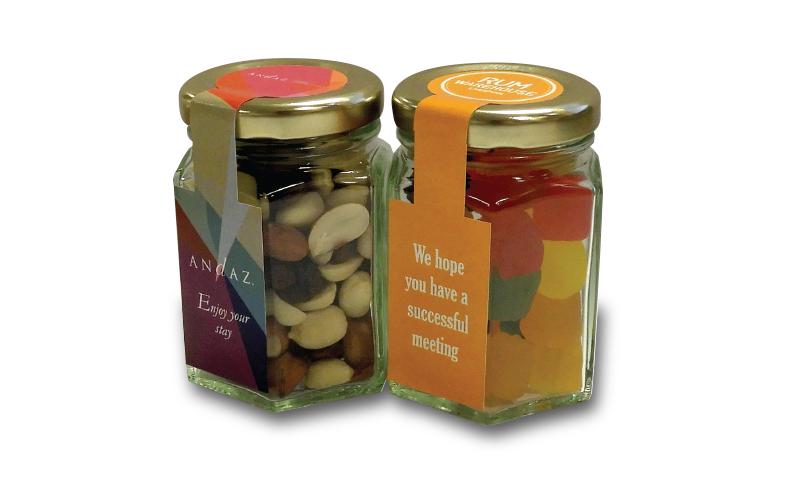 Small Hex Jar
