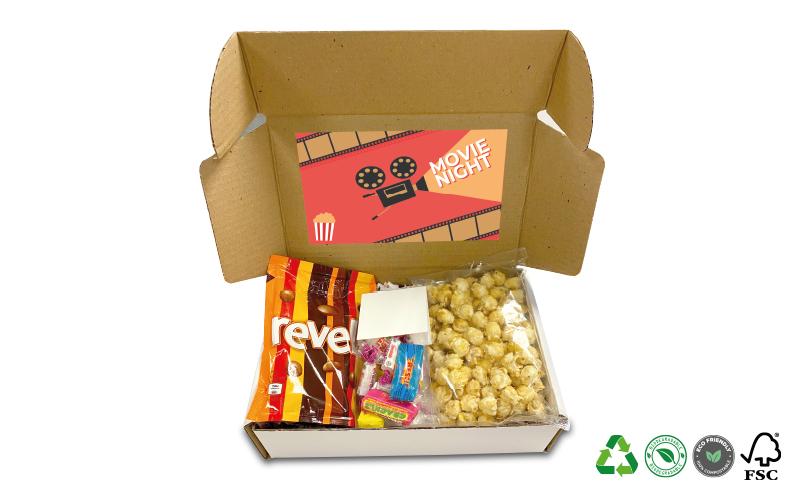 Postal Treat Box – Movie Night